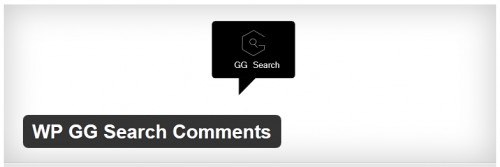 WP GG Search Comments