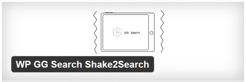 WP GG Search Shake2Search