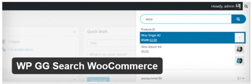 WP GG Search WooCommerce