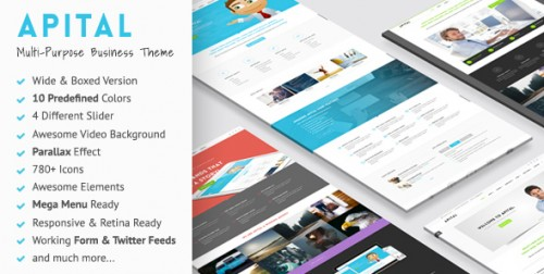 Apital - Ultra Premium Business WordPress Theme