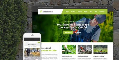 Landscaper - Lawn & Landscaping WP Theme