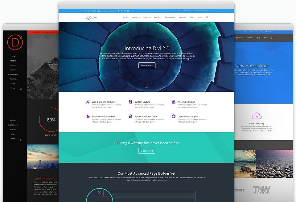 The Best Recently Released Themes to Use to Build Your New Website