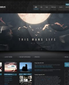 Website Inspiration: Designs Based On Popular TV Shows