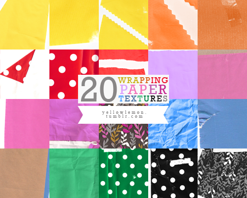Wrapping Paper Textures