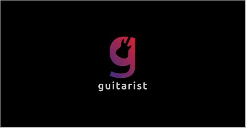 Guitarist - G Letter Logo