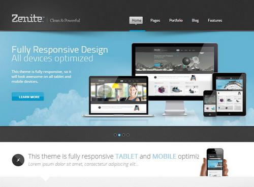 The advantages of choosing a premium web template designcoral premium web template design flashek Images