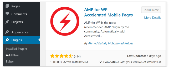 Setting up a WordPress AMP Compatible Website